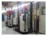 Jual Boiler Gas Kapasitas 200kg-20Ton
