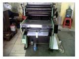 Jual Mesin Cetak Hamada dan Plate Maker